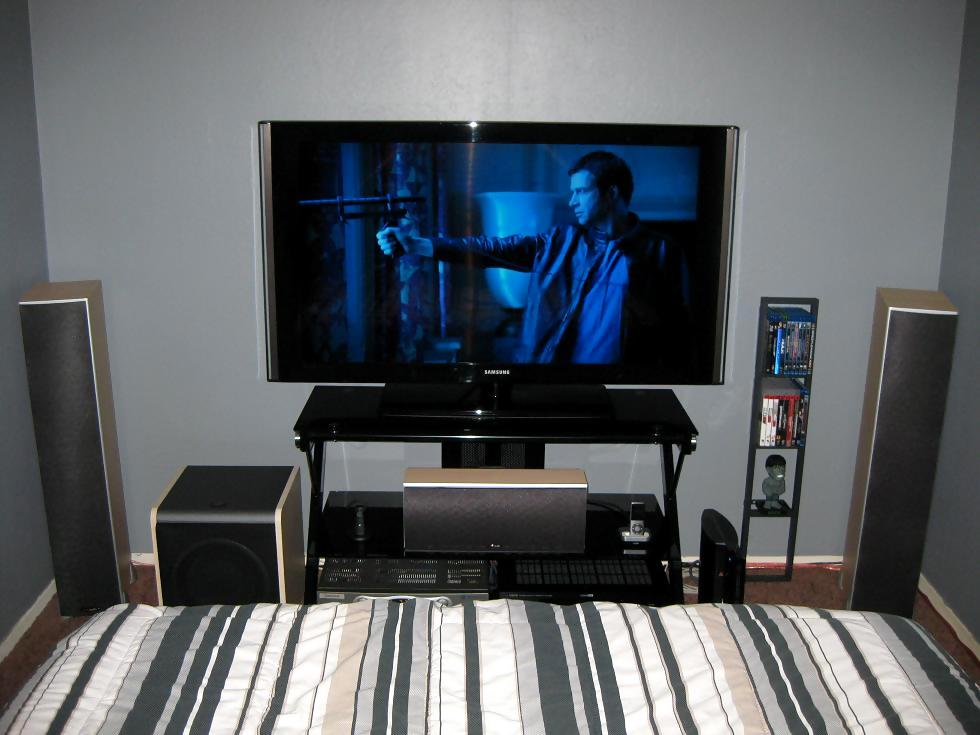Bedroom Home Theater Home Design Ideas