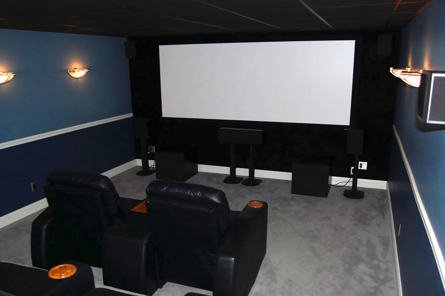 Welcome To My Home Theater Located In The Bat Of Overall Room Dimensions Are Roximately 13 W X 20 L 8 H