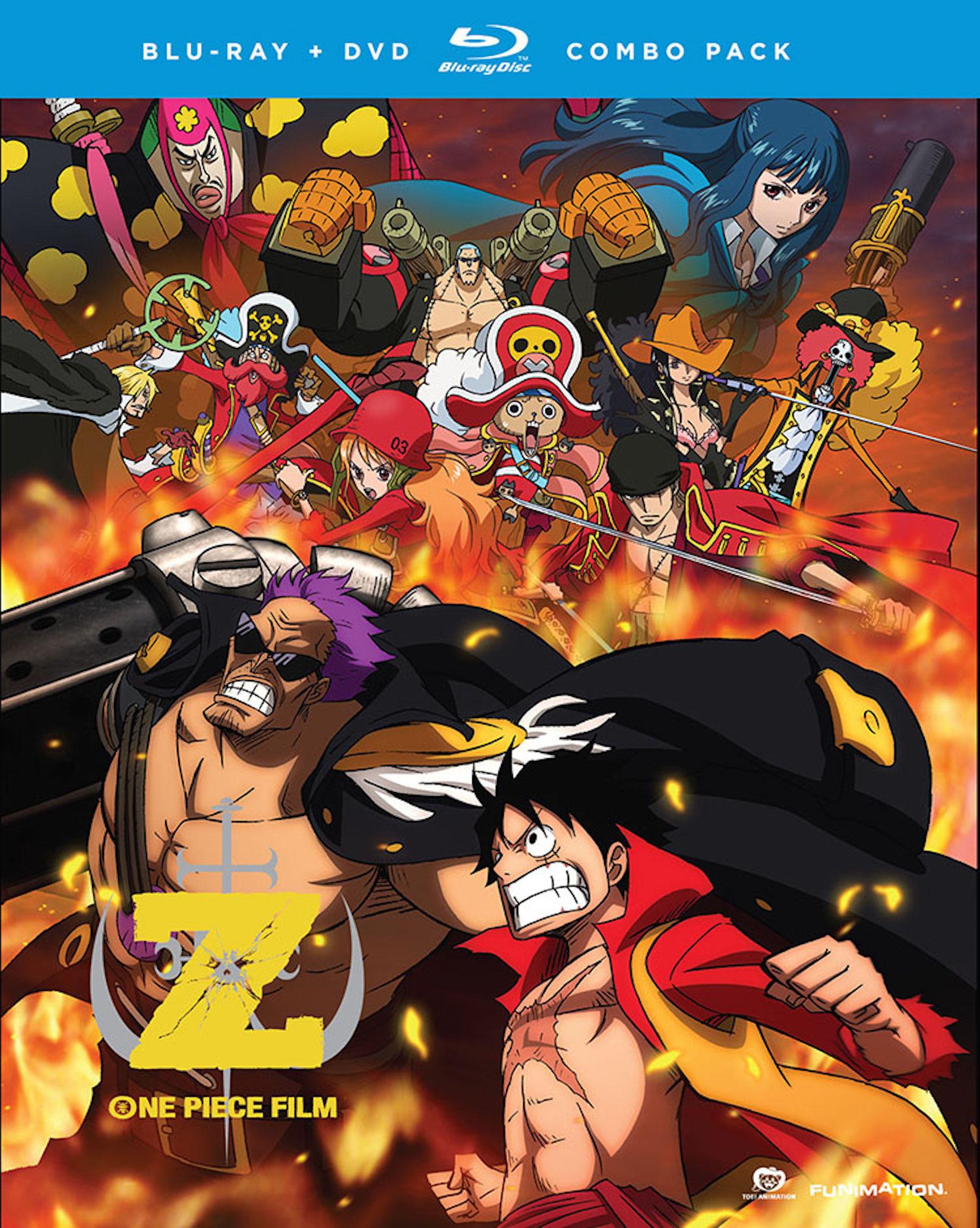 One Piece: Film Z Blu-ray