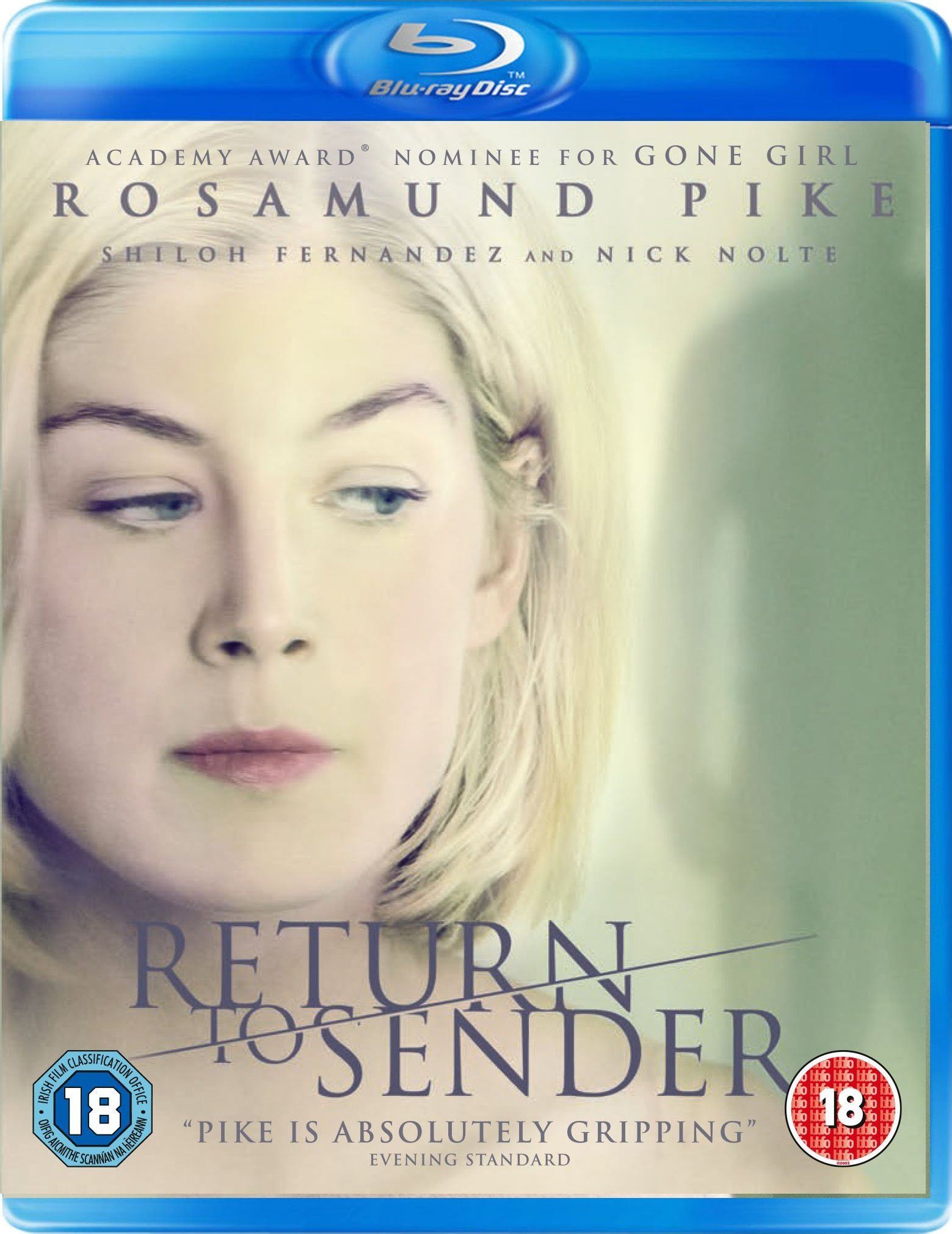 Return to Sender Blu-ray (United Kingdom)