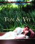 Tom & Viv (Blu-ray)