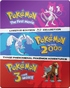 Pokémon: The Movies 1-3 Collection: Pokémon: The First Movie / Pokémon: The Movie 2000 / Pokémon 3: The Movie (Blu-ray)