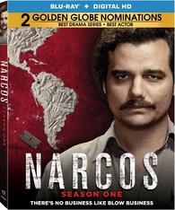 Narcos: Season One (Blu-ray)