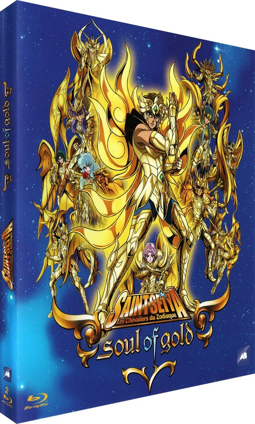 Saint Seiya Soul Of Gold Blu Ray Release Date October 5 2016