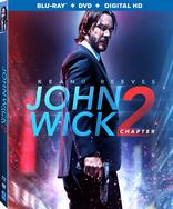 John Wick 1 and 2 Blu-ray