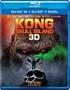Kong: Skull Island 3D (Blu-ray)