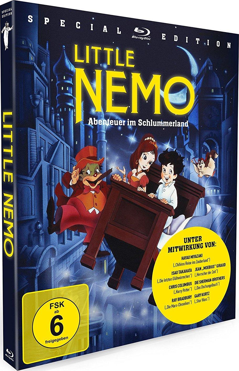 little nemo adventures in slumberland blu ray review