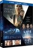 Coffret: Premier contact + Passengers + Life (Blu-ray)