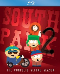 south park the complete second season blu ray