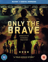 Only the Brave Blu-ray (United Kingdom)
