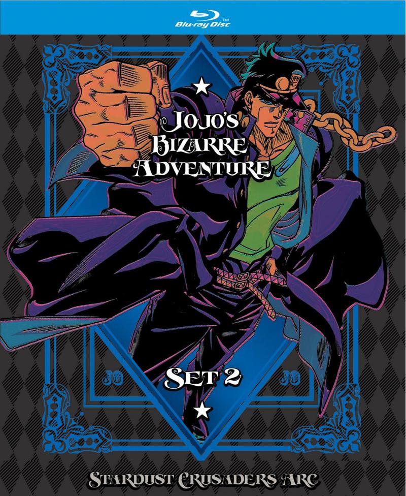 JoJo\'s Bizarre Adventure Blu-ray: Set 2 - Stardust Crusaders Limited ...