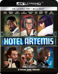 Hotel Artemis 4K (Blu-ray)
