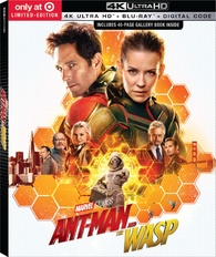 Ant-Man and the Wasp 4K (Blu-ray) Temporary cover art