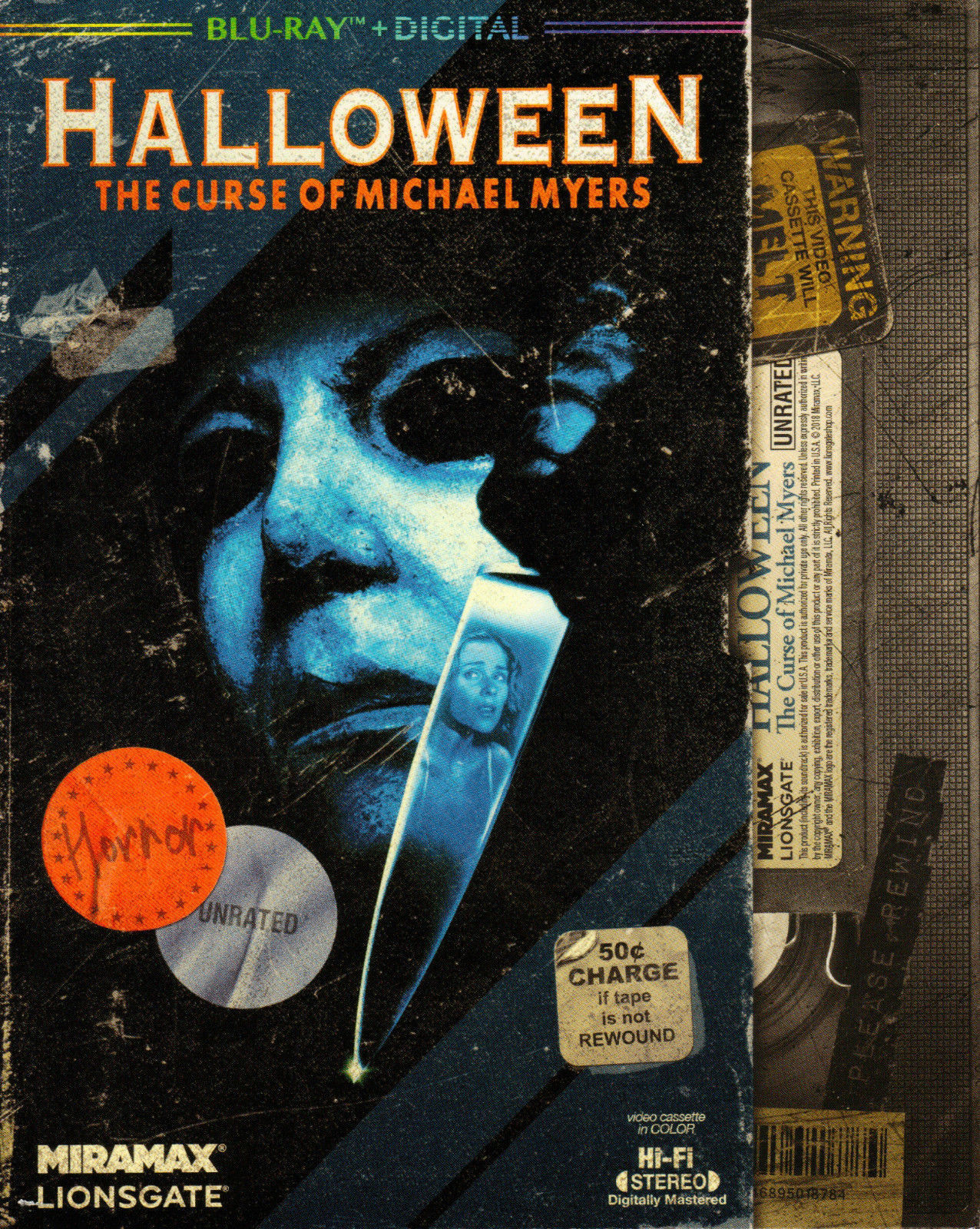 halloween: the curse of michael myers blu-ray: unrated producer's