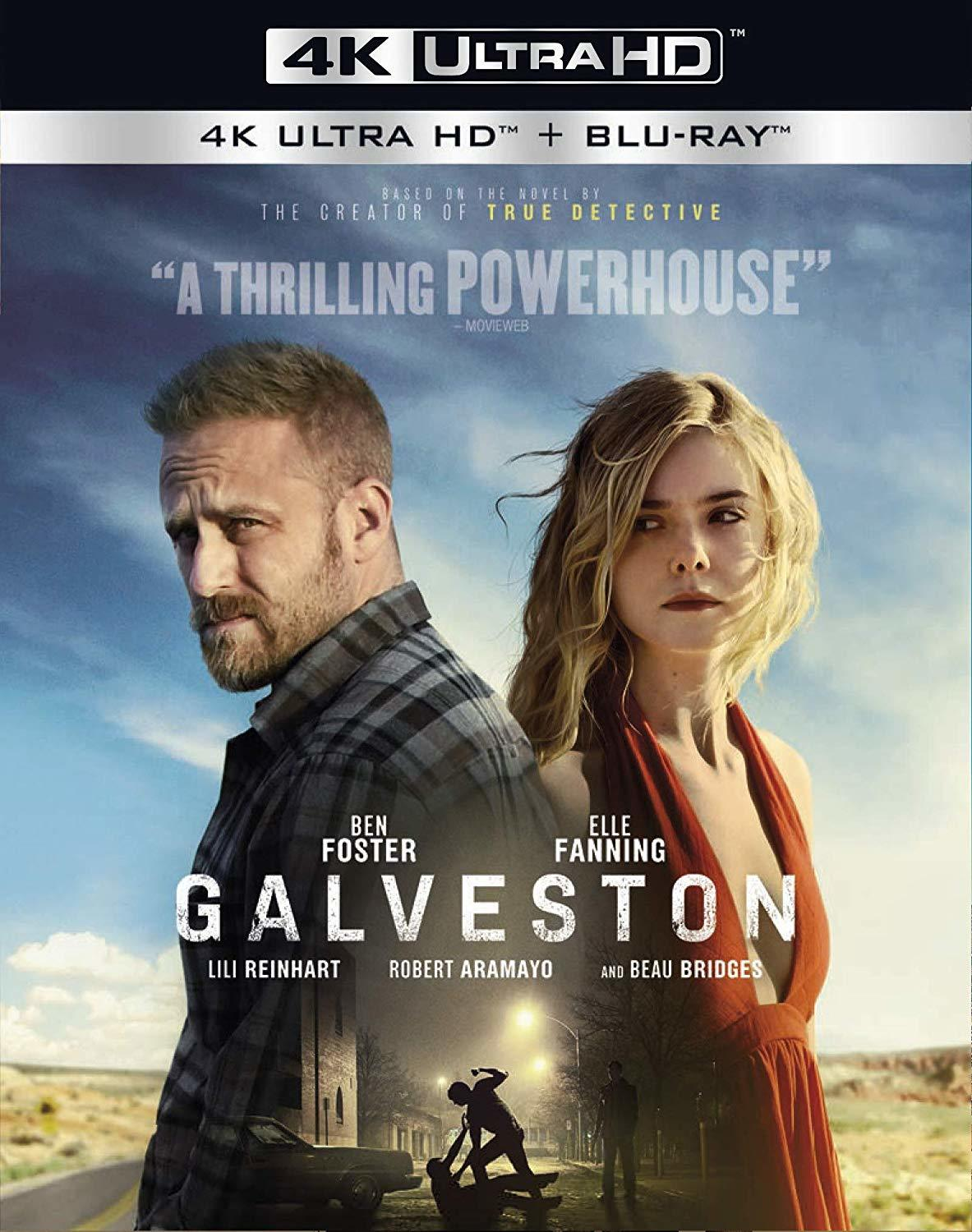 Galveston 4K (2018) Ultra HD Blu-ray