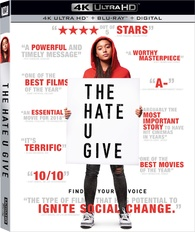 The Hate U Give 4K (Blu-ray) Temporary cover art