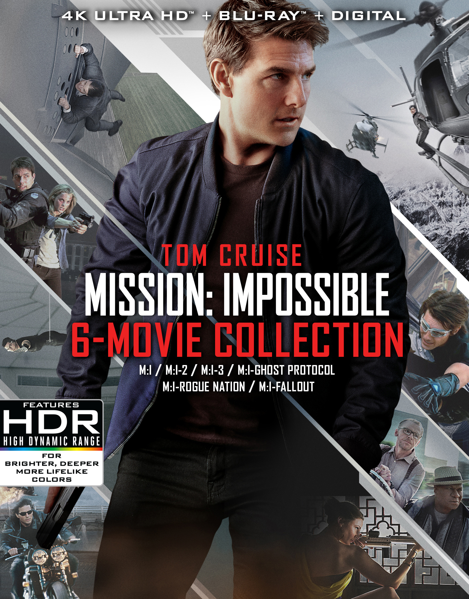 Mission: Impossible - 6 Movie Collection 4K Ultra HD Blu-ray