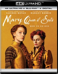 Mary Queen of Scots 4K (Blu-ray)