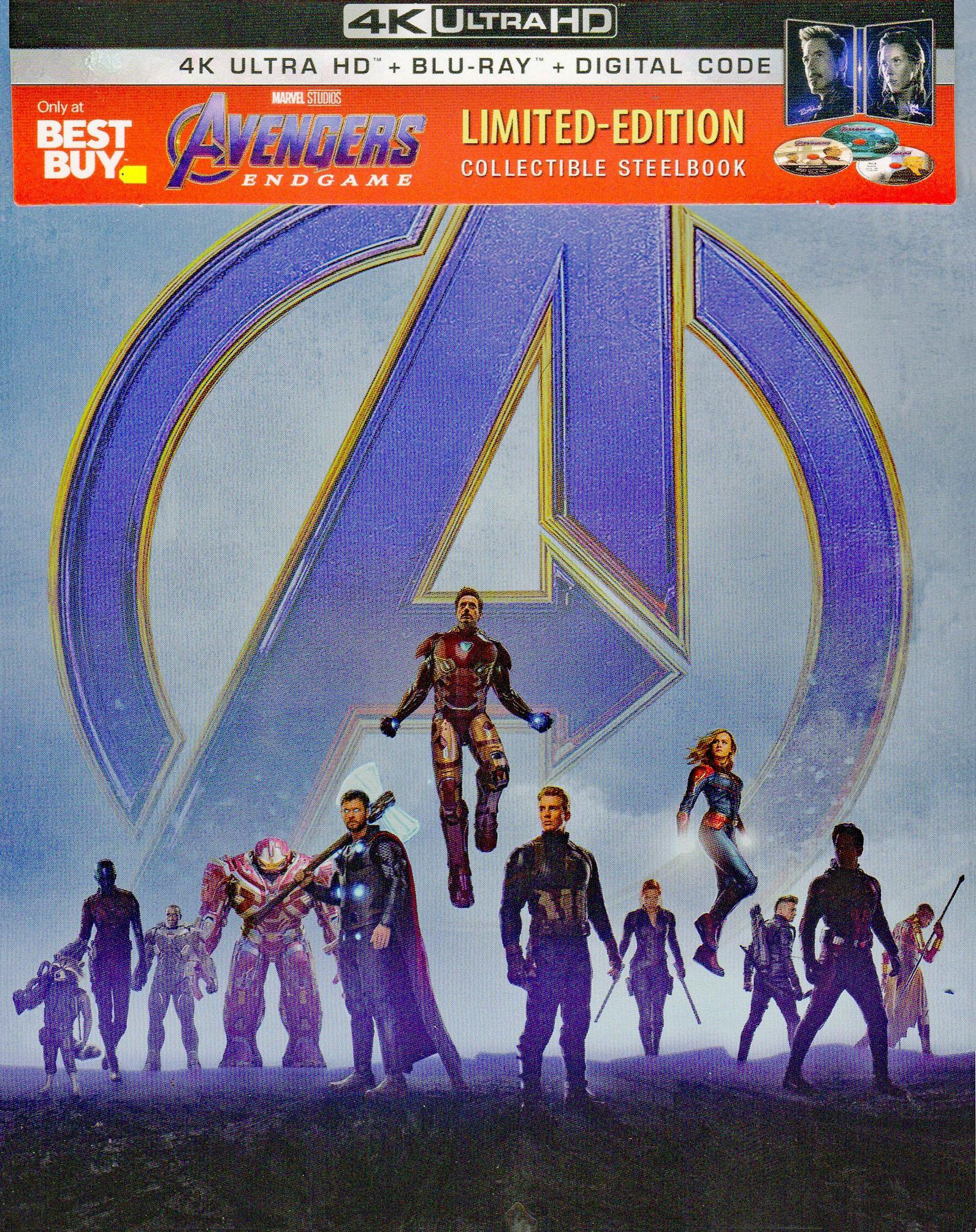 Marvel's AVENGERS: ENDGAME Is Now Available On 4K Ultra HD