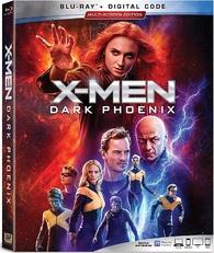 X-Men: Dark Phoenix (Blu-ray) Temporary cover art