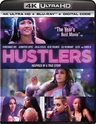 Hustlers 4K (Blu-ray) Temporary cover art