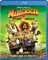 Madagascar and Penguins of Madagascar - 4 Movie Collection Blu-ray