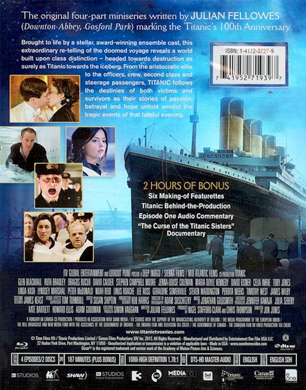 titanic blu ray  Titanic Blu-ray