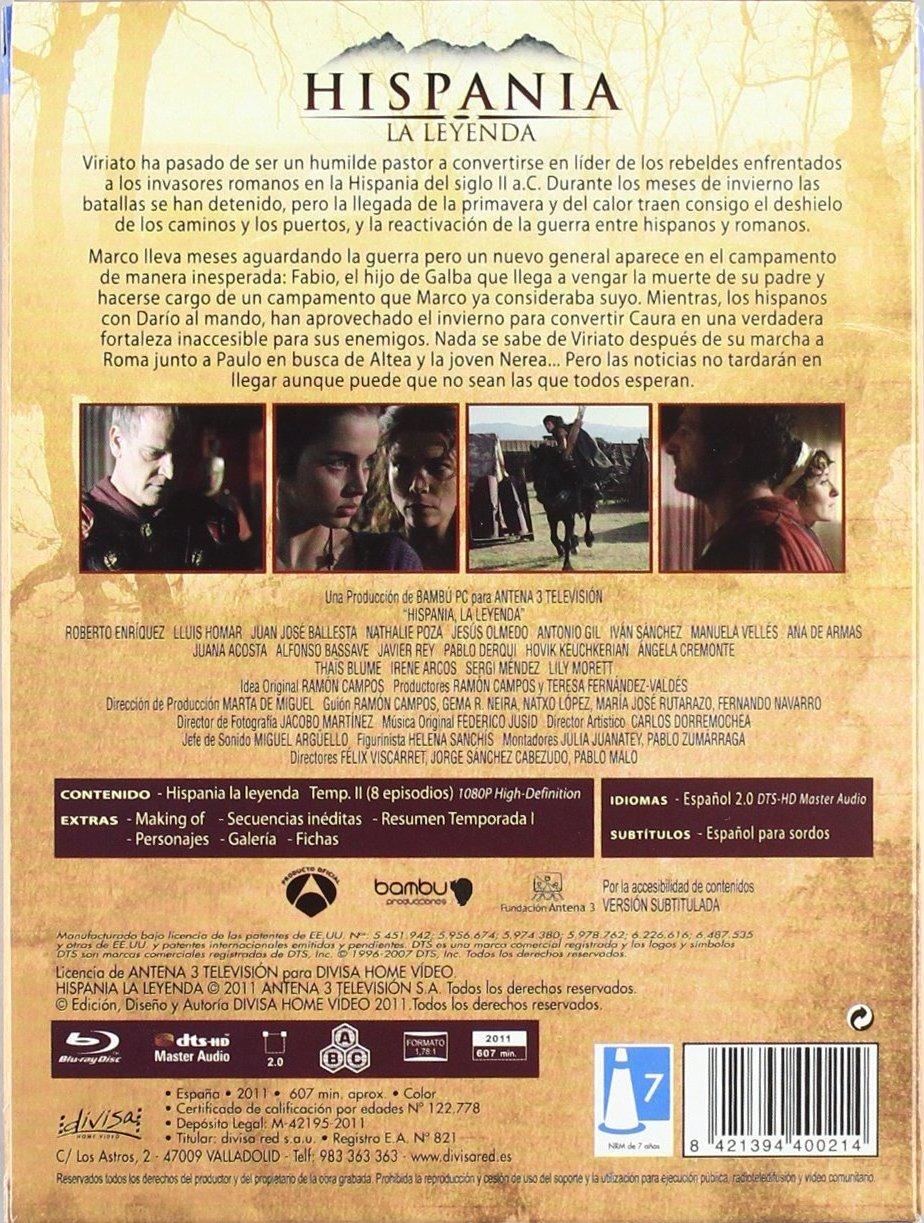 Hispania La Leyenda Full Movie hispania la leyenda: segunda temporada blu-ray (spain)