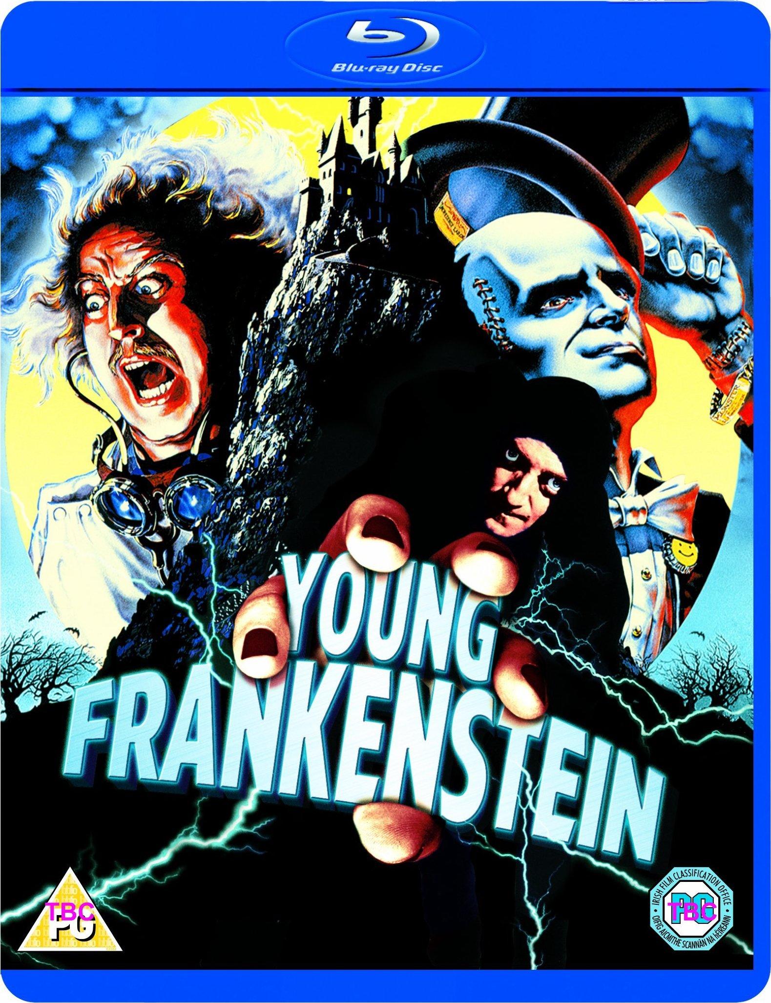 Resultado de imagem para Young Frankenstein 1974 bluray