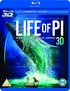 Life of Pi 3D (Blu-ray)