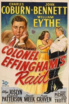 Image result for colonel effingham's raid (1946)