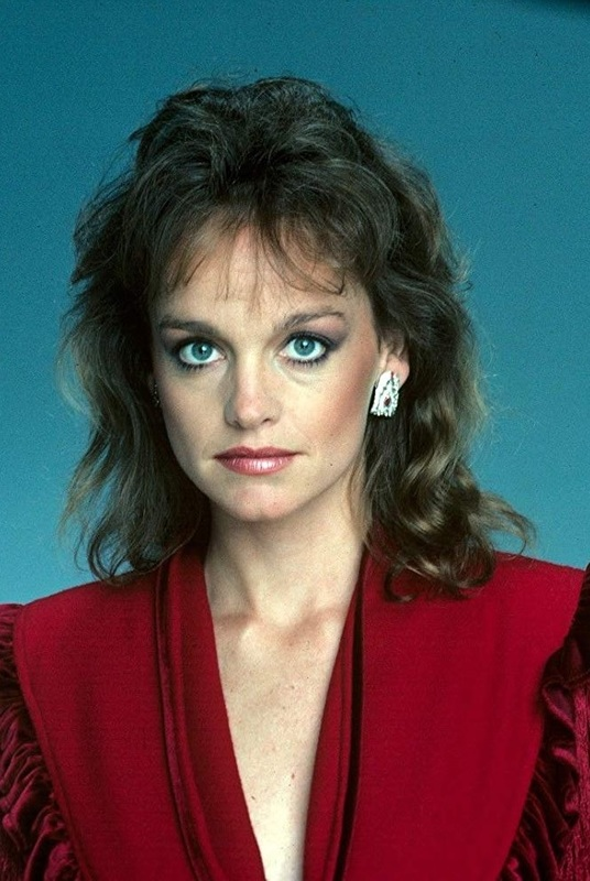 Pamela Sue Martin the lady in red