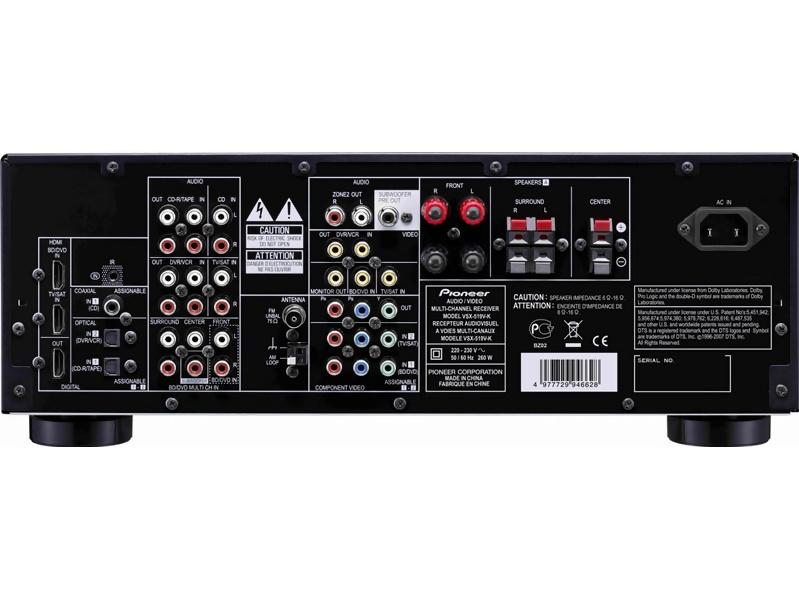 Pioneer vsx519vk vsx-519v-k service manual: pioneer: amazon. Com: books.