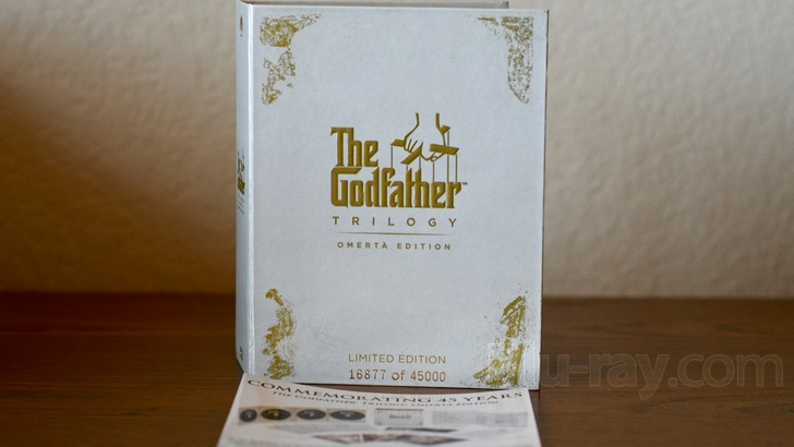 The Godfather Trilogy Blu-ray: Omertà Edition