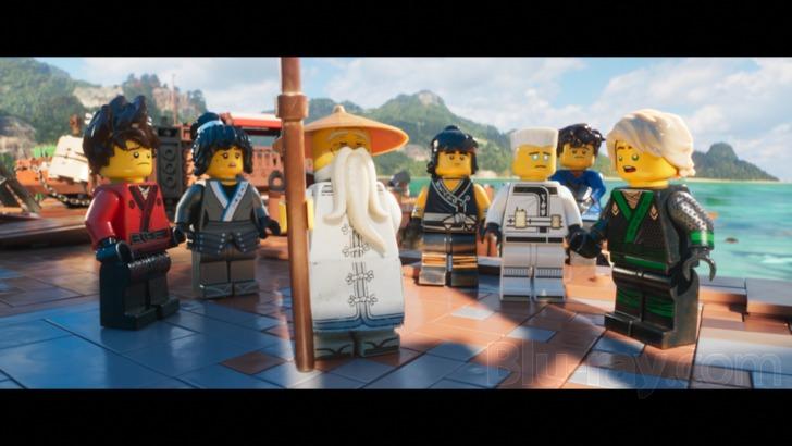 The LEGO Ninjago Movie Blu-ray