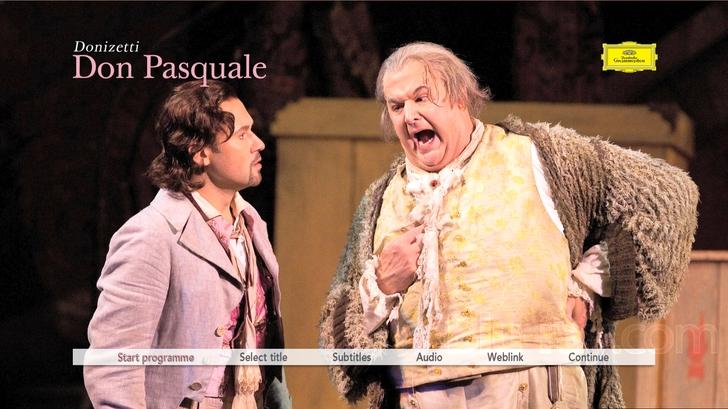 Donizetti Don Pasquale Blu Ray