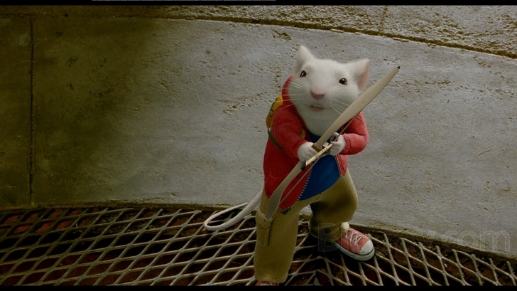 Stuart Little 2s 1080p Transfer Is Almost Blindingly Colorful By Design The Filmmakers Have Ensured That Just About Every Color Conceivable Makes An