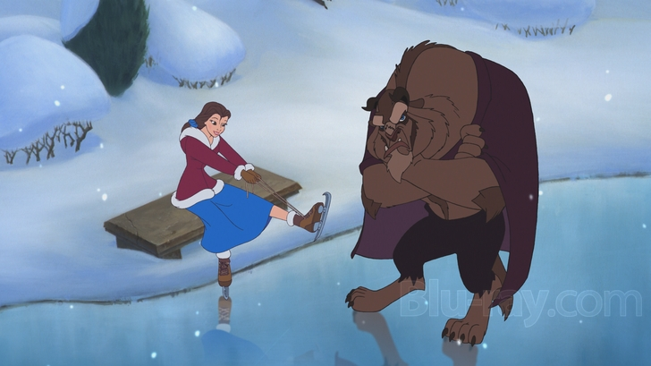 Beauty And The Beast Christmas.Beauty And The Beast The Enchanted Christmas Blu Ray