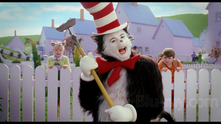 dr seuss the cat in the hat blu ray