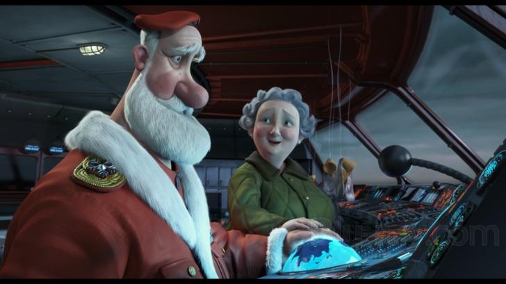 Arthur Christmas Santa.Arthur Christmas 3d Blu Ray