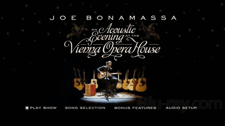 joe bonamassa vienna opera house dvd
