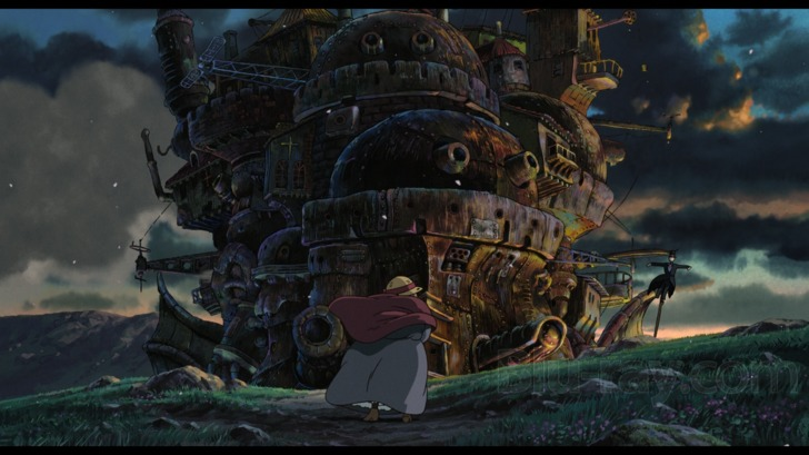 Howl/'s Moving Castle Studio Ghibli Complete Storyboard Book F//S w//Tracking# NEW