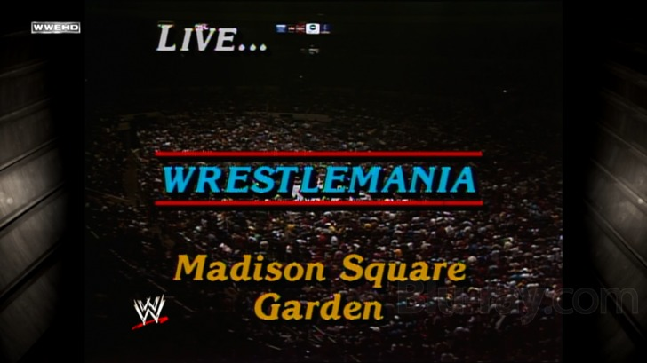 WWE The Best Of WWE At Madison Square Garden Blu Ray, Special Features And  Extras
