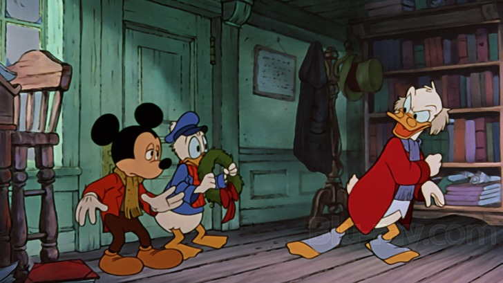 the success of a christmas carol adaptation is in its casting and mickey and his friends slip comfortably into the shoes of charles dickens beloved - Mickeys Christmas Carol